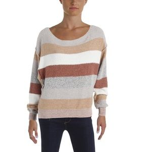 NWT Free People Candyland Pullover Sweater Sz L